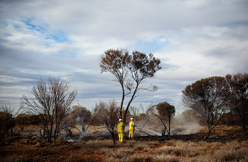 Laverton Bush Fire 02