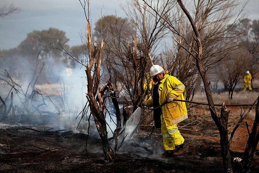 Laverton Bush Fire