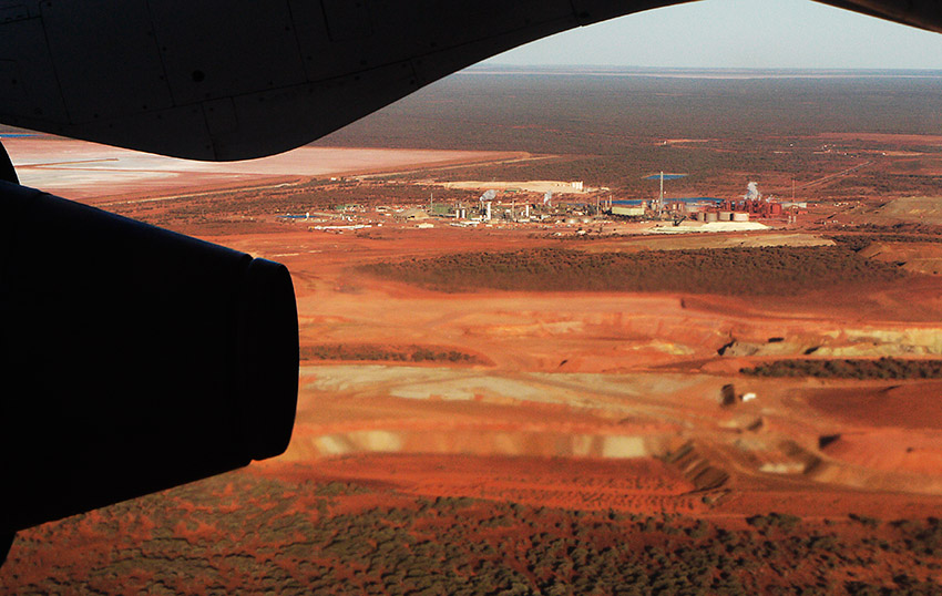 Murrin Murrin Nickel Mine