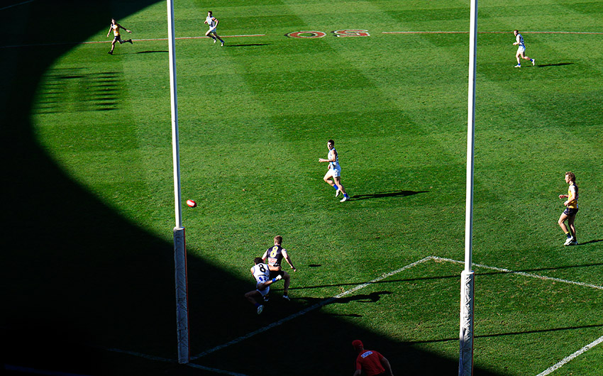 WestCoastEagles vs. North Melbourne Kangaroos