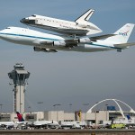 Space Shuttle Endeavour Los Angeles Fly Over