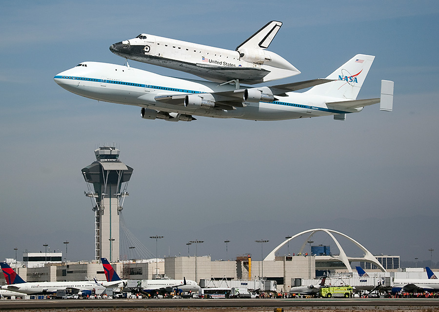 space shuttle in los angeles - photo #23
