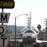 Space Shuttle Endeavour's Journey Through Los Angeles